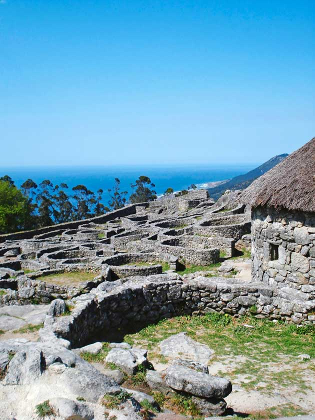 Santa Trega, kelttien muinaiset asuinsijat