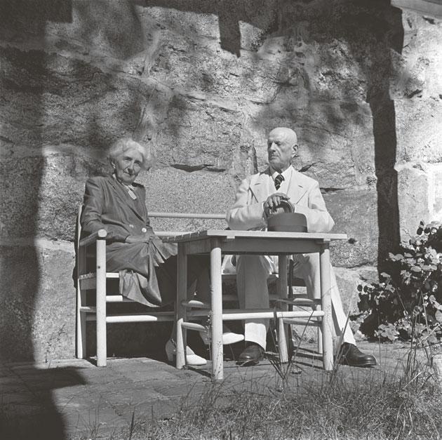 Aino ja Jean Sibelius