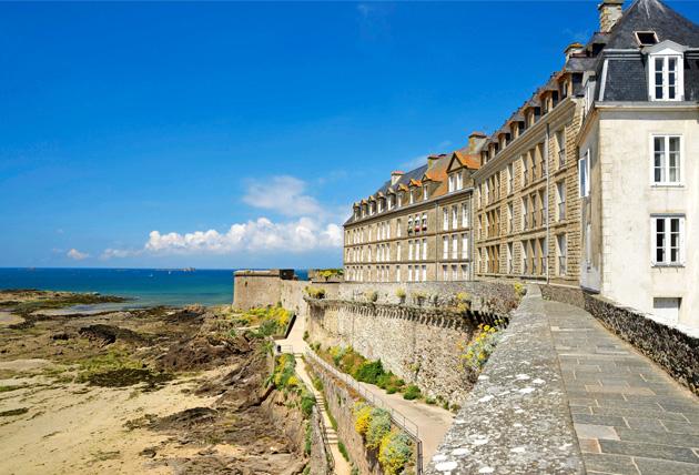 Galician kaunista rannikkoa vanhoine rakennuksineen