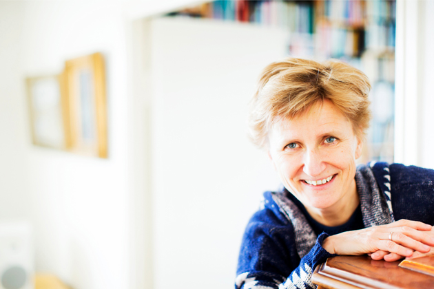 Kirjailija ja toimittaja Minna Lindgren