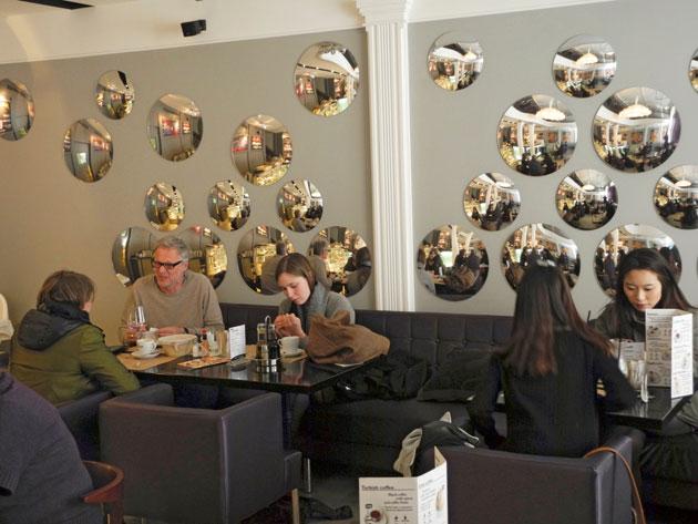 Sicaffe-kahvila Pietarissa