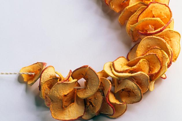 kuivatut omenarenkaat