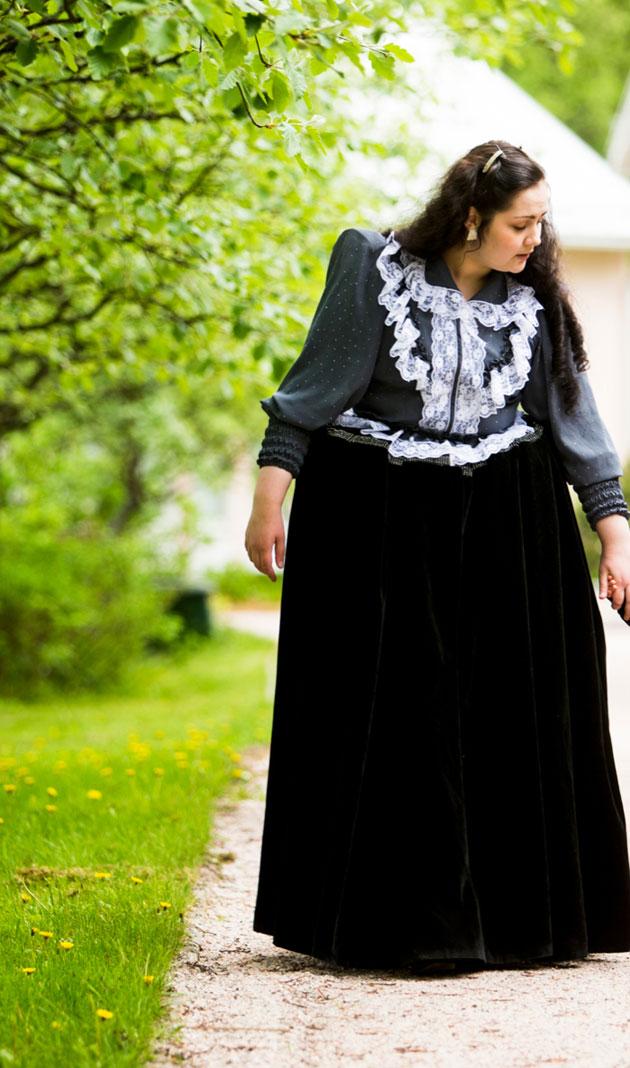 Janita Nyman romanien perinneasussa