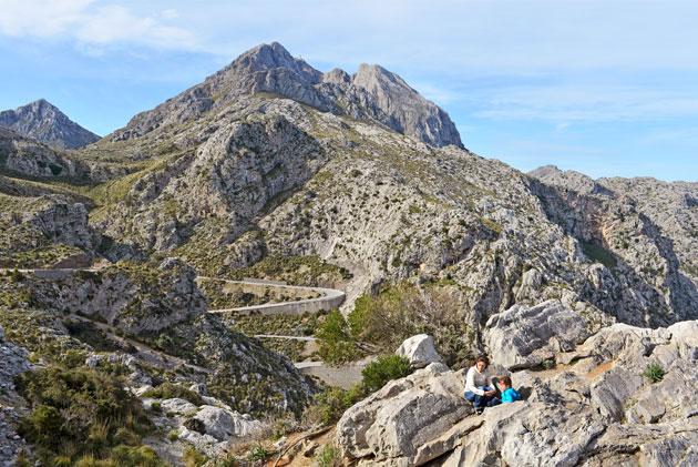 Mallorcan vuoristomaisemia