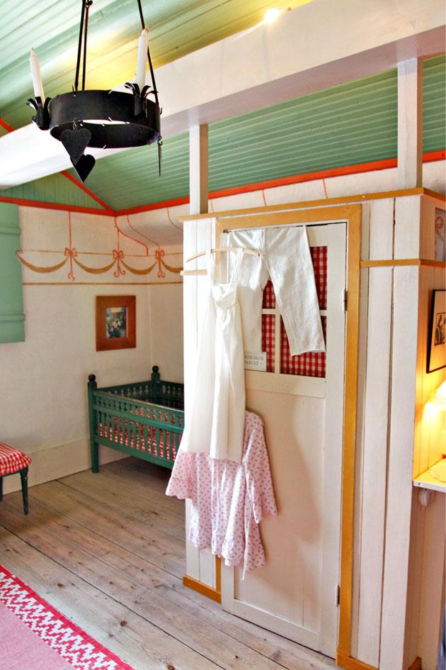 Larssonin kodin tyyliä