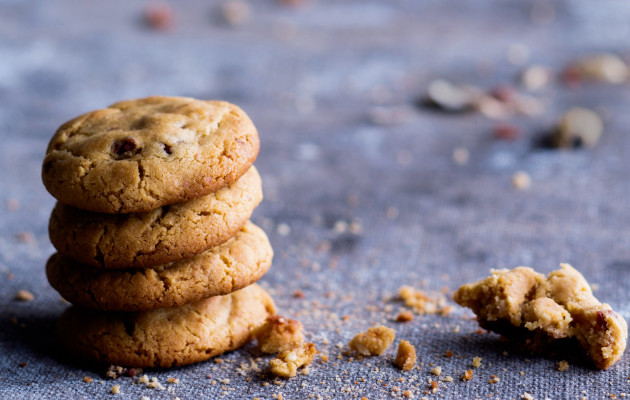 Pähkinäcookiet