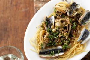 spagetti con le sarde