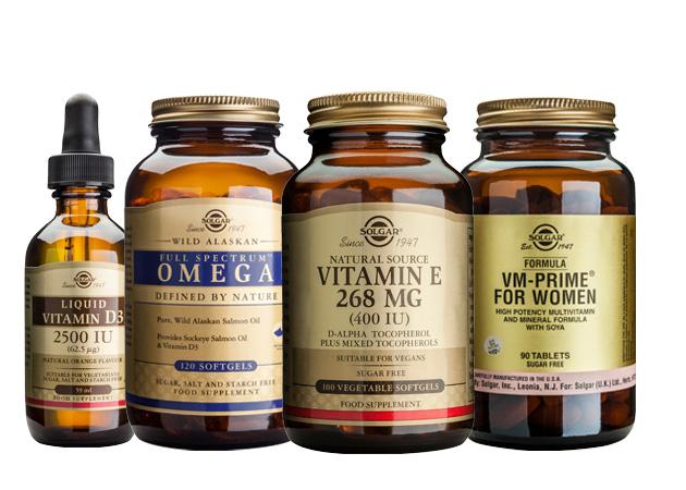 Solgar vitamiinit