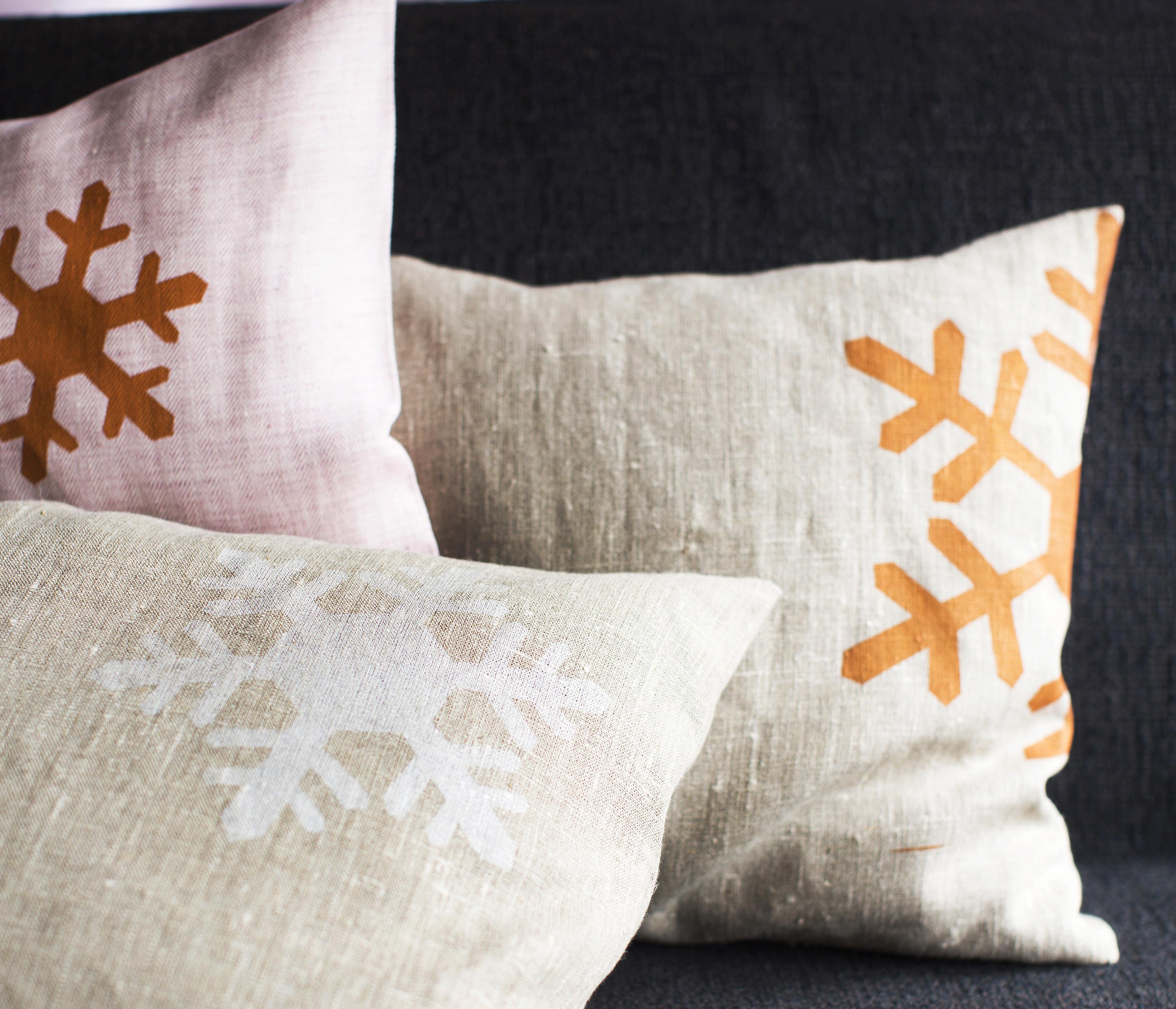 talviset tyynynpäälliset ohje