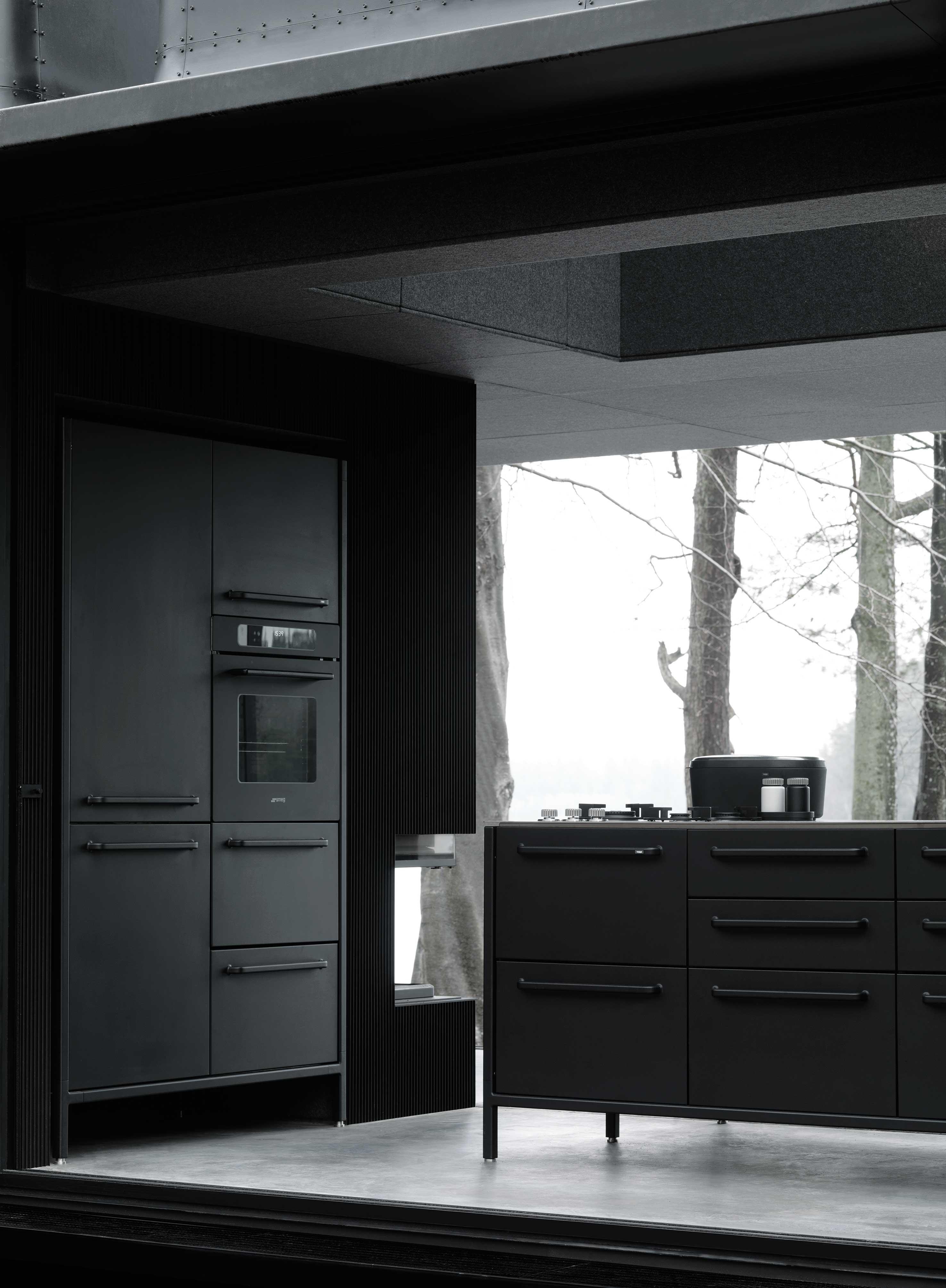 Tanskalaisen Vippin mökin keittiö