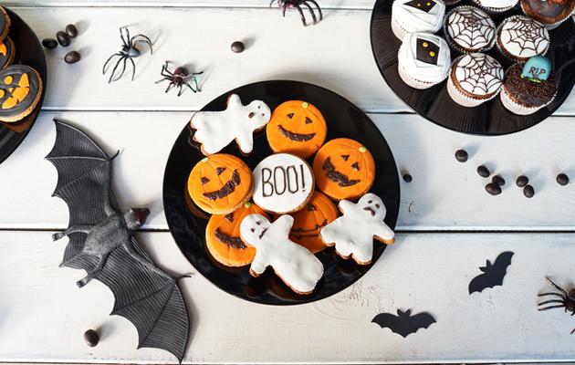 Halloween koristelut
