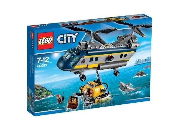 Lego City kopteri