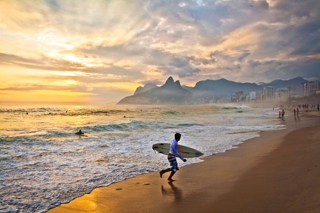 Rio de janeiro rannat