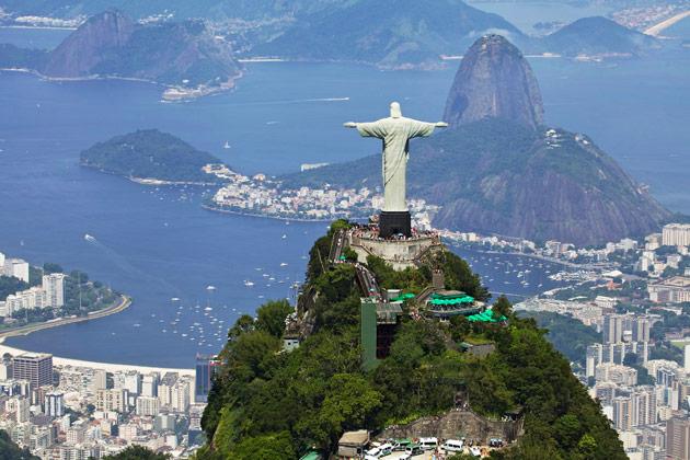 Kristus-patsas Rio de Janeirossa