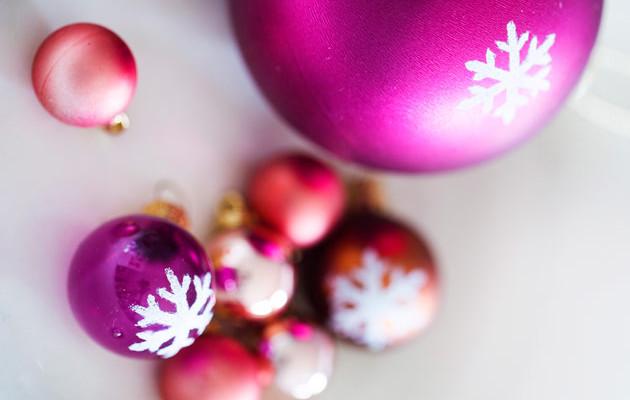 Diy-joulukoriste kuusen