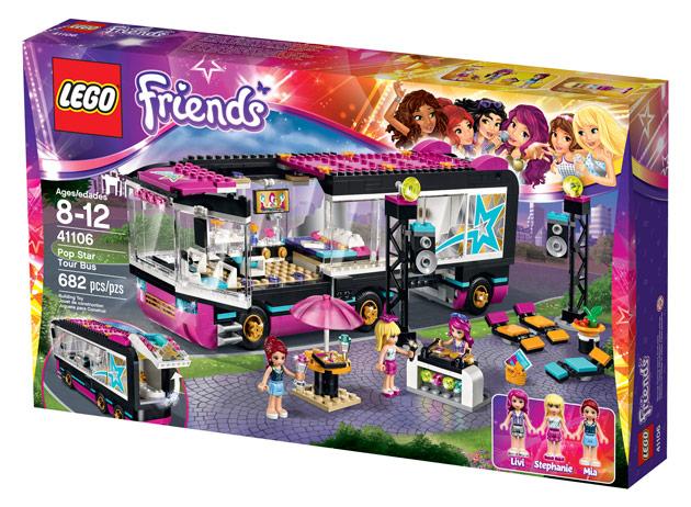 Osallistu Kotilieden kilpailuun ja voita lego friends keikkabussi