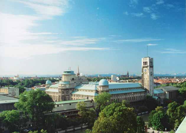 maailman suurin tiedemuseo munchenissä