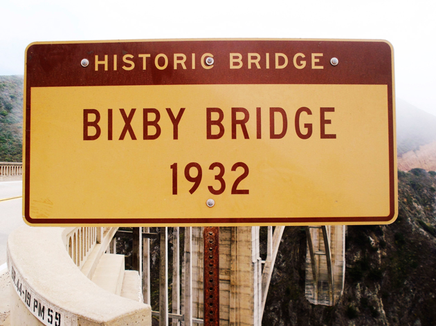 Bixby Bridge Kaliforniassa