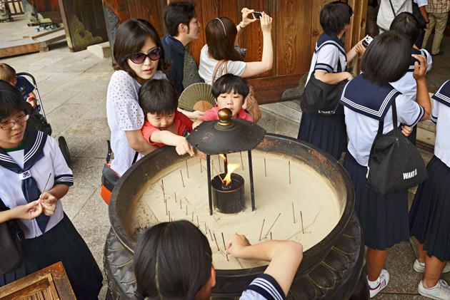 Suitsukkeet japanin narassa