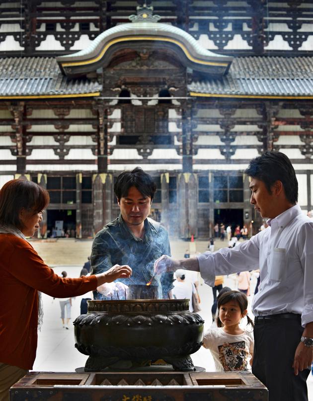 temppeli japanin Narassa