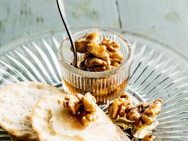 hunajapähkinät resepti