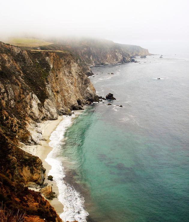 Kalifornian rannikkokallio