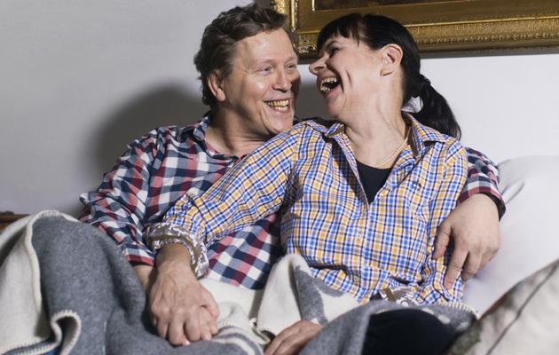 Ari Sovijarvi ja Maija Castrén rakastuivat löysivät toisensa kuusissakymmenissä.
