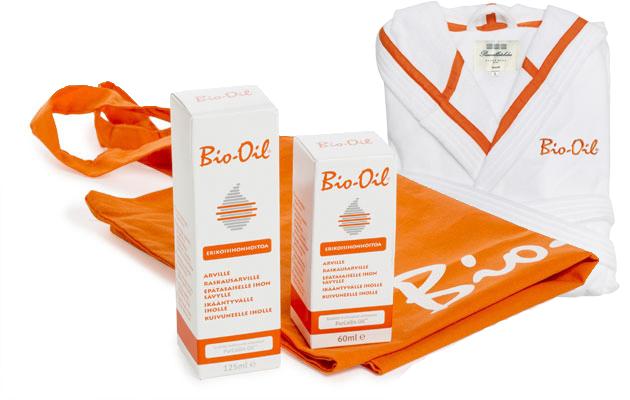 Bio-oil -tuotteita