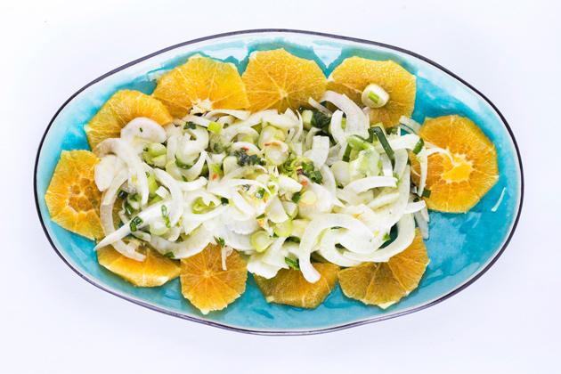 fenkoli-appelsiinisalaatti
