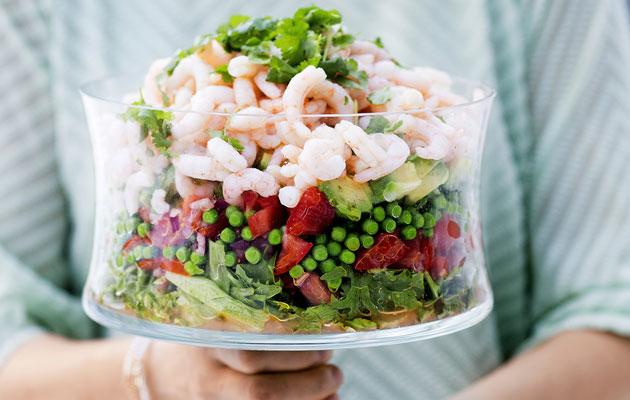 keväinen salaattikulho