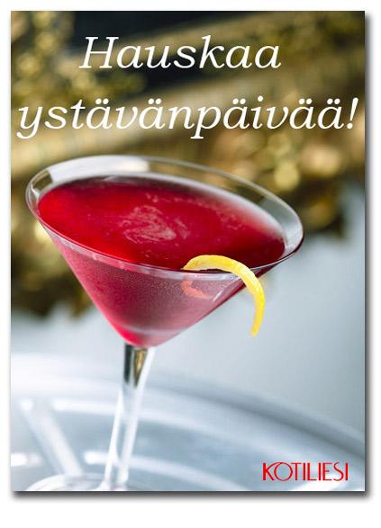 Lähetä Hauskaa ystävänpäivää -kortti sähköisesti e-kortilla!
