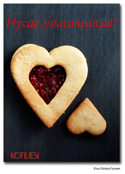 Lähetä Hyvää ystävänpäivää -kortti Kotilieden e-korttina!