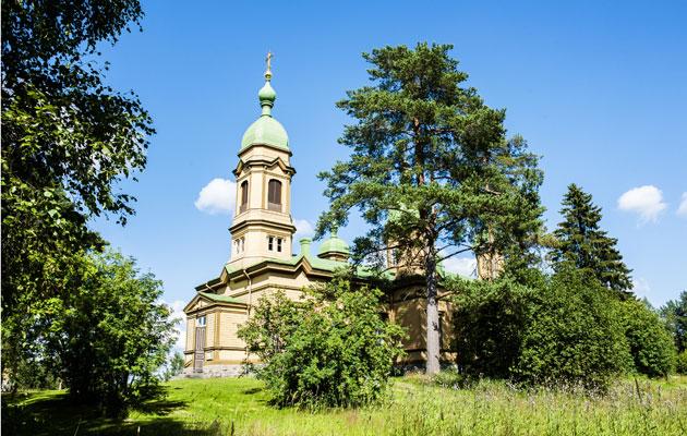 Kirkko Ilomantsissa