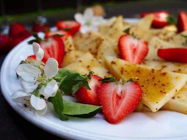 Marinoitu Gruyére-juusto