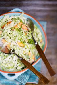 Persikka-coleslaw