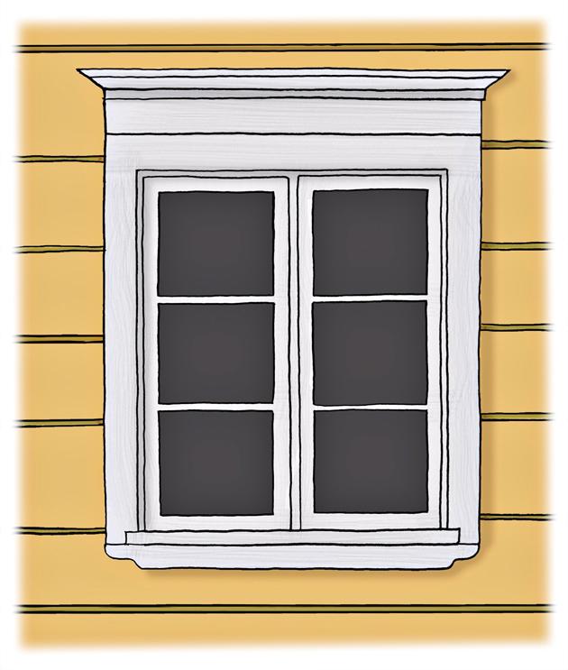 ikkuna empiretyyli