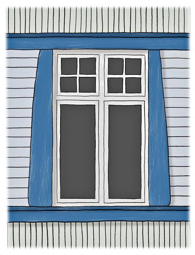 ikkuna jugendtyyli