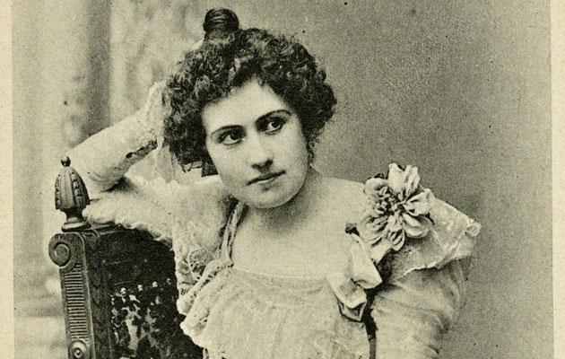 Oopperalaulaja Aino Ackté