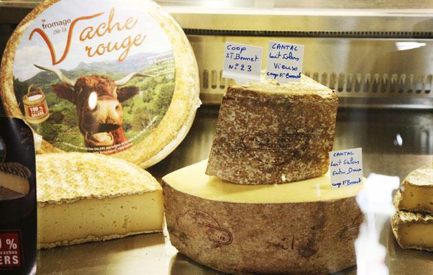 Ranskalaisia juustoja