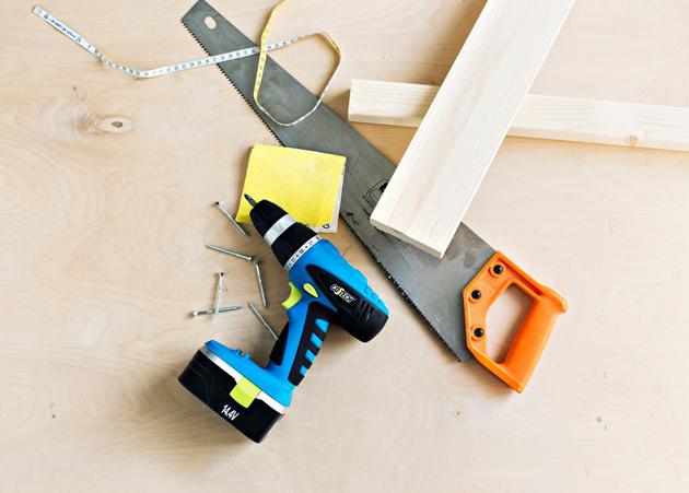 Työkalut nikkarointia varten