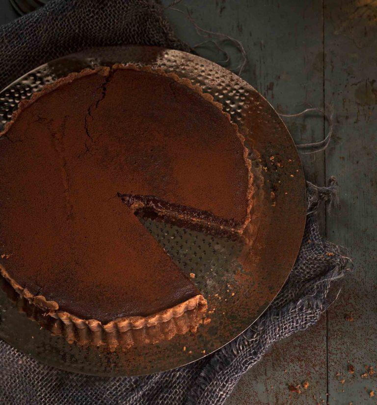 punajuuri-suklaapiirakka