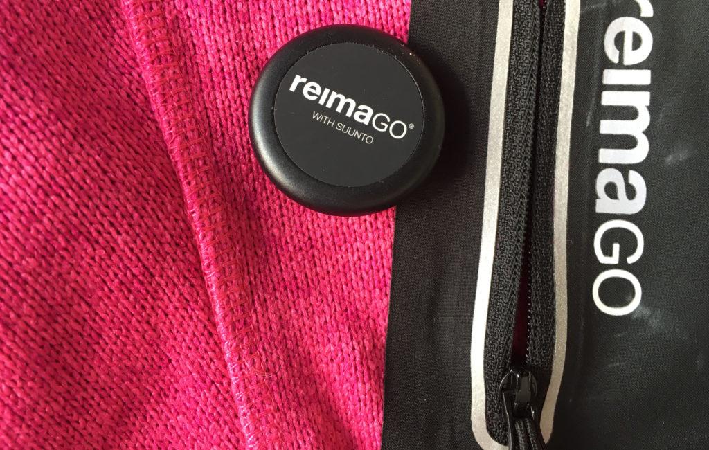 Reima Go -sensori ja tasku