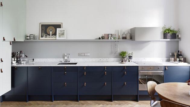 sininen keittiö