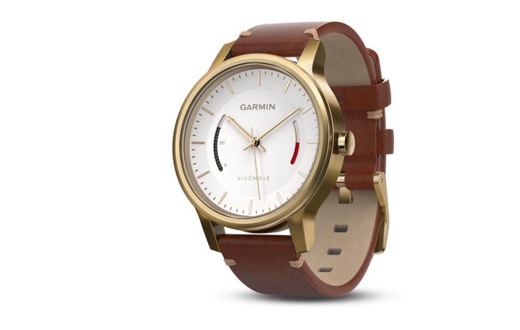 Garmin Vivomove Premium nahkarannekemalli