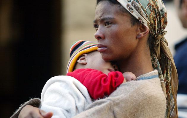 Afrikan äidit ja lapset