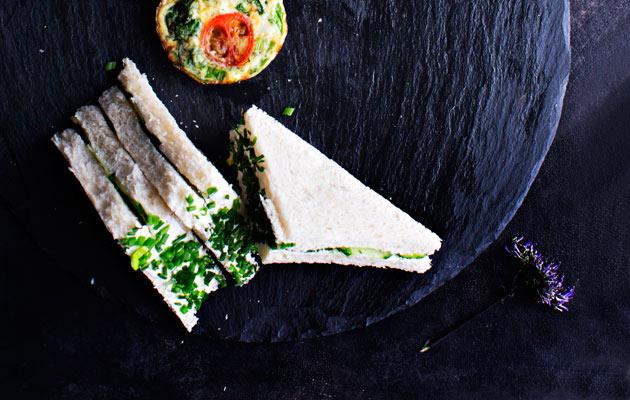 kurkkusandwichit