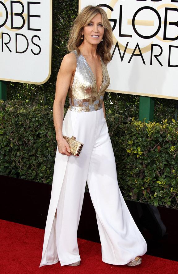 Felicity Huffman Golden Globe 2017