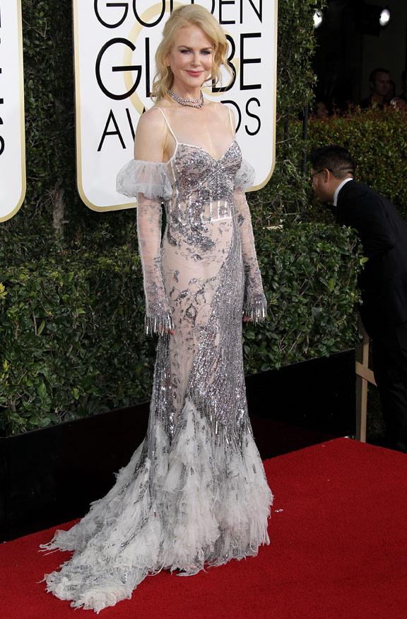 Nicole Kidman Golden Globe 2017