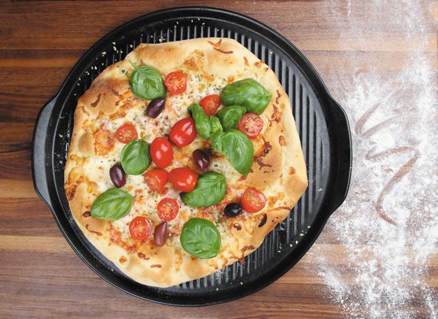 Kultakeramiikka pizzakivi