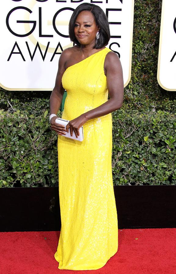 Viola Davis Golden Globe 2017